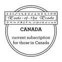 Tools of the Trade - Canadian Subscription