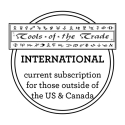Tools of the Trade - International Subscription